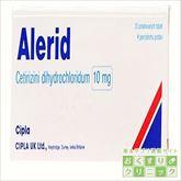 アレリド(塩酸セチリジン) 10mg 100錠