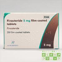 フィナステリド(FINASTERIDE) 5mg 28錠